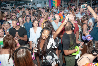 Partying at Pride - In The Sky.