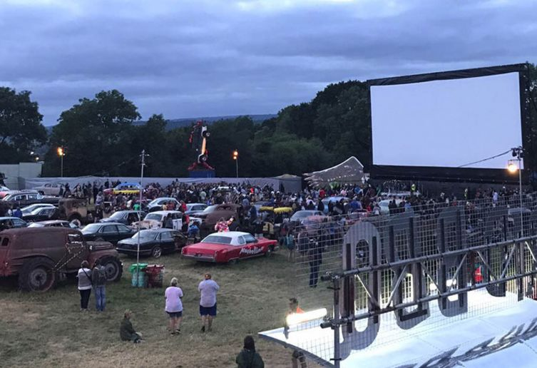 Drive In Cinema System for 100